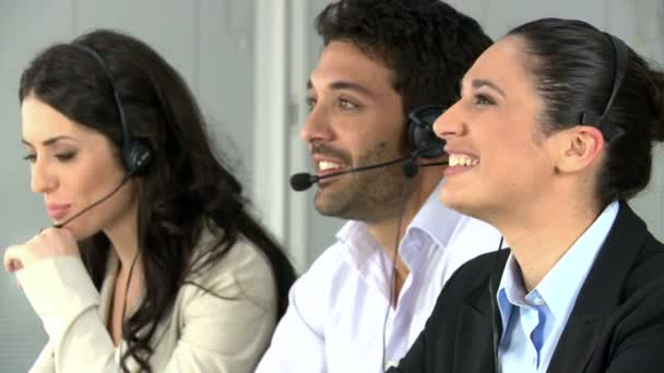 Talking call center operators