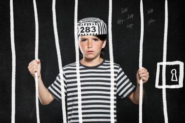 Prank boy in jail