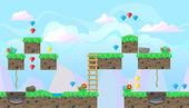 Varrat nélküli szerkeszthető táj platform játék design