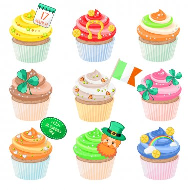 Cupcakes  for Saint Patrick's Day