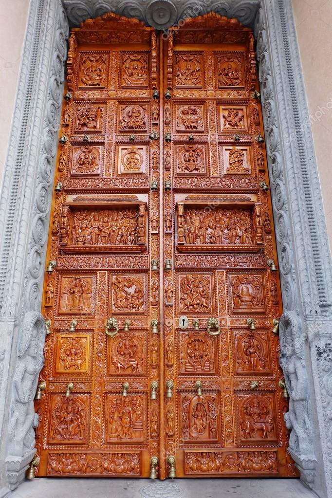 Hindu temple door u2014 stock photo © nic9899 #97758490