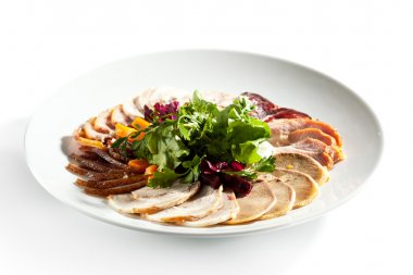 Meat Plate Dressing with Salad