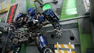 Optimus Prime Robot Model