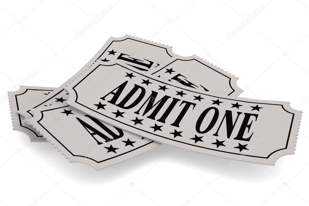Ticket-Papier mit einem Wort zugeben — Stockfoto © tang90246 #112710646