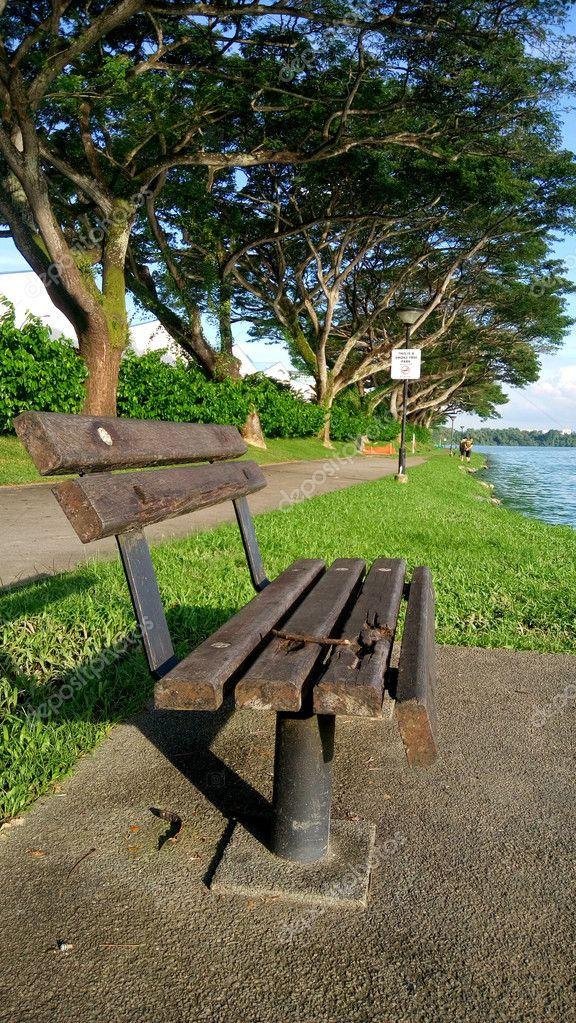Kranji reservoir in Singapore