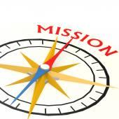 kompas s mise slovo