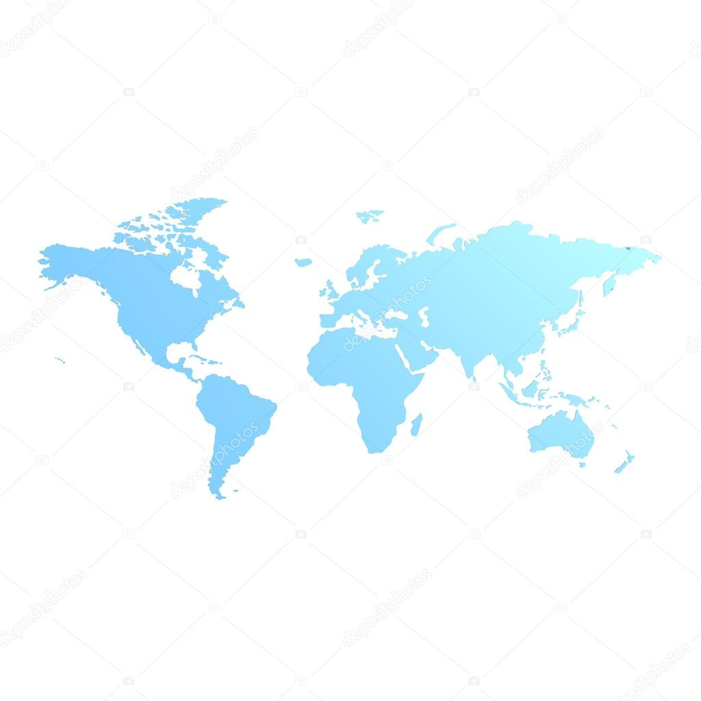 Blue world map stock photo tang90246 61781429 blue world map image with hi res rendered artwork that could be used for any graphic design photo by tang90246 gumiabroncs Gallery