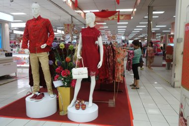Ladies Wear section in AEON Mall