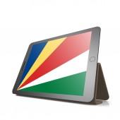 Tablet s seychelská vlajka