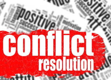 Word cloud conflict resolution