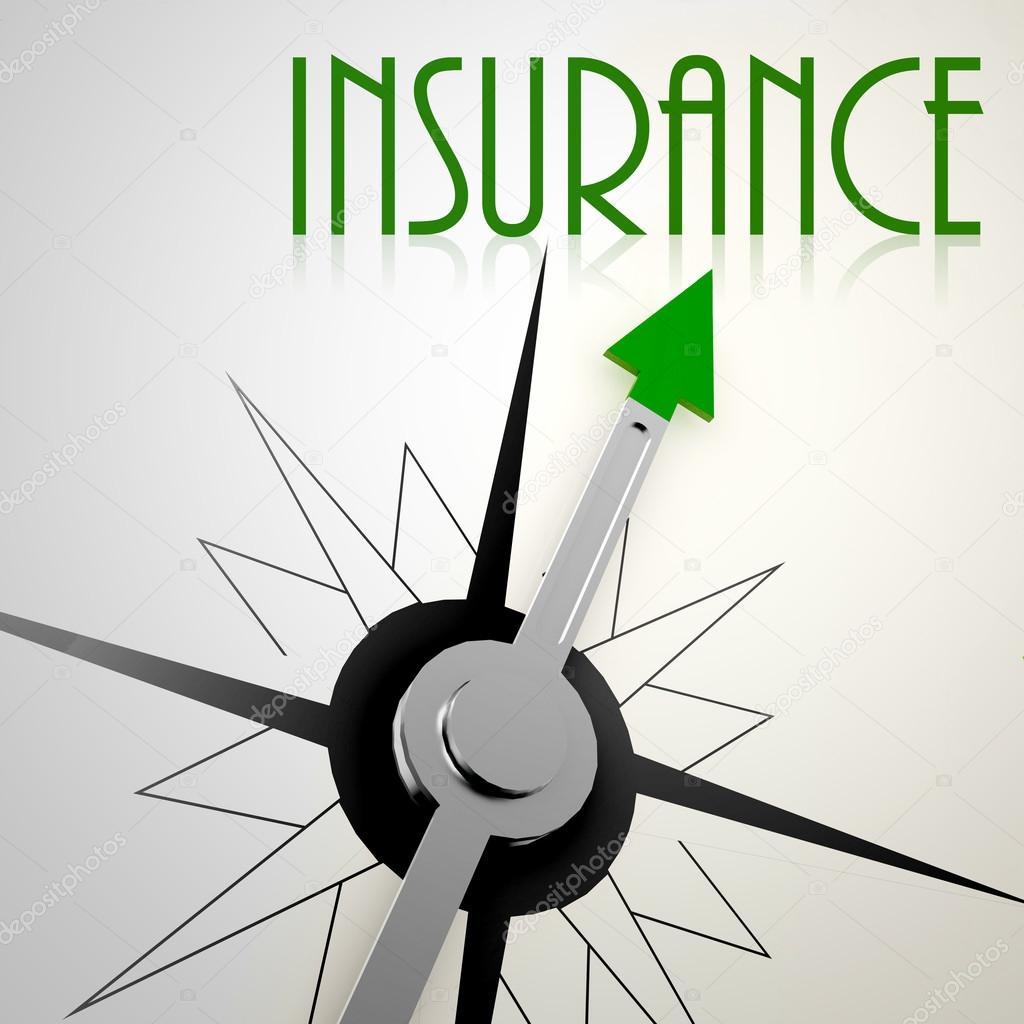 Versicherung Mit Gruner Kompass Stockfoto C Tang90246 84984330