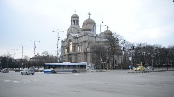 VARNA, BULGARIA - JANUARY 20, 2015: Varna. Bulgaria. cathedral