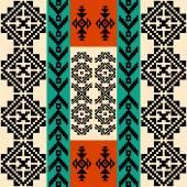 Absztrakt geometriai háttér, hagyományos etnikai motívumok