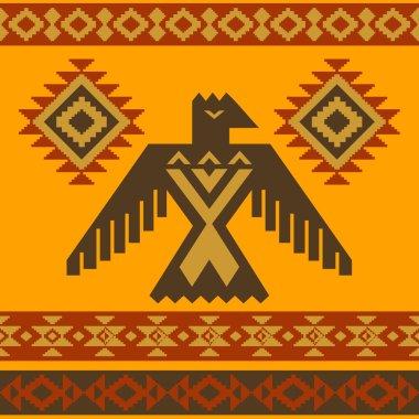 Tribal eagle vector illustration