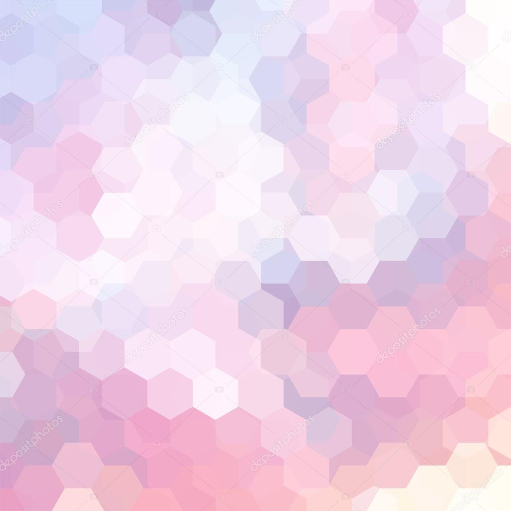 Vector Background With Hexagons Can Be Used In Cover Design Book Design Website Background Vector Illustration Pastel Pink Violet Colors Premium Vector In Adobe Illustrator Ai Ai Format Encapsulated