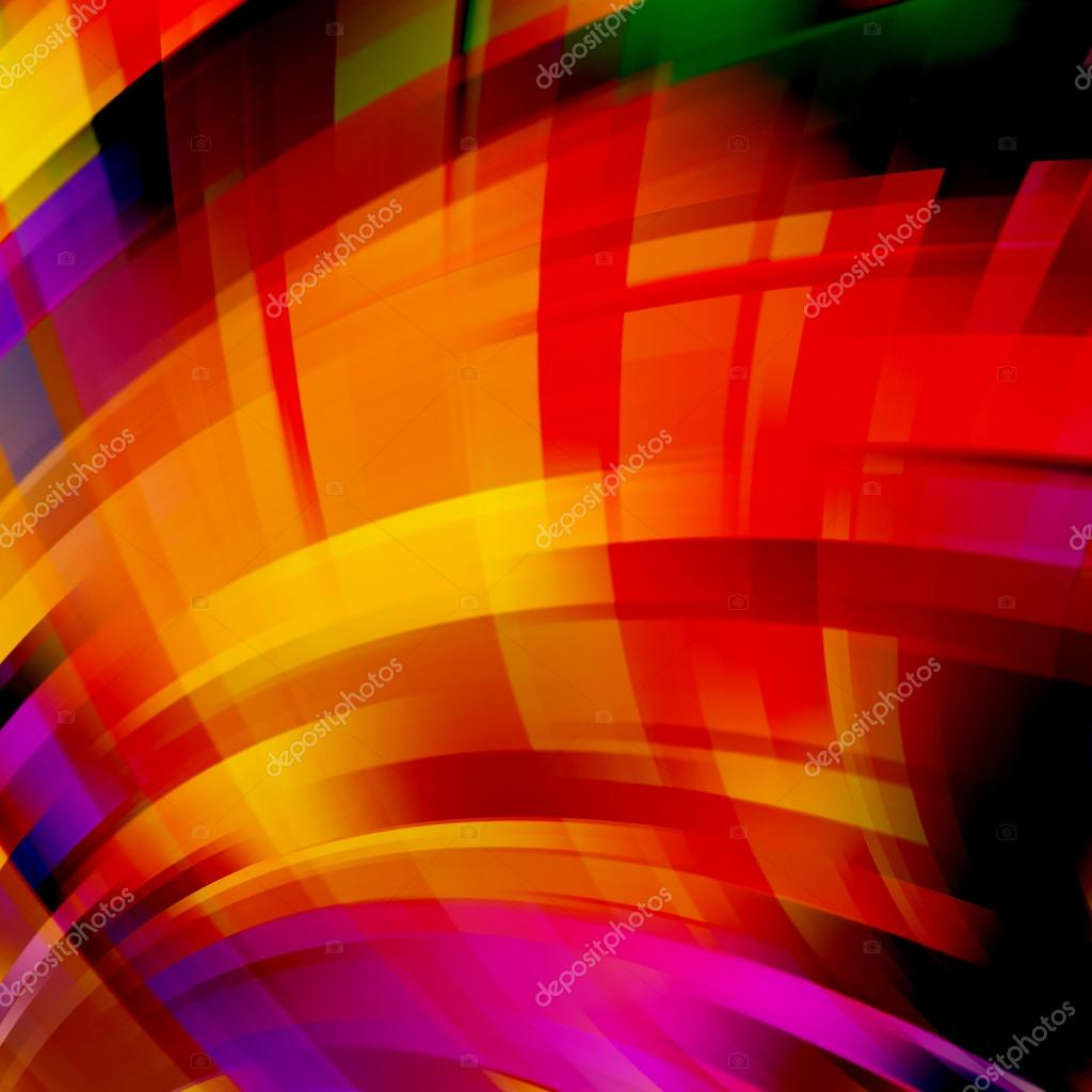 Abstract Colorful Background With Swirl Waves Abstract
