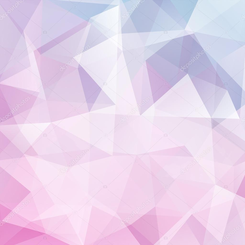 abstract polygonal vector background. geometric vector illustration