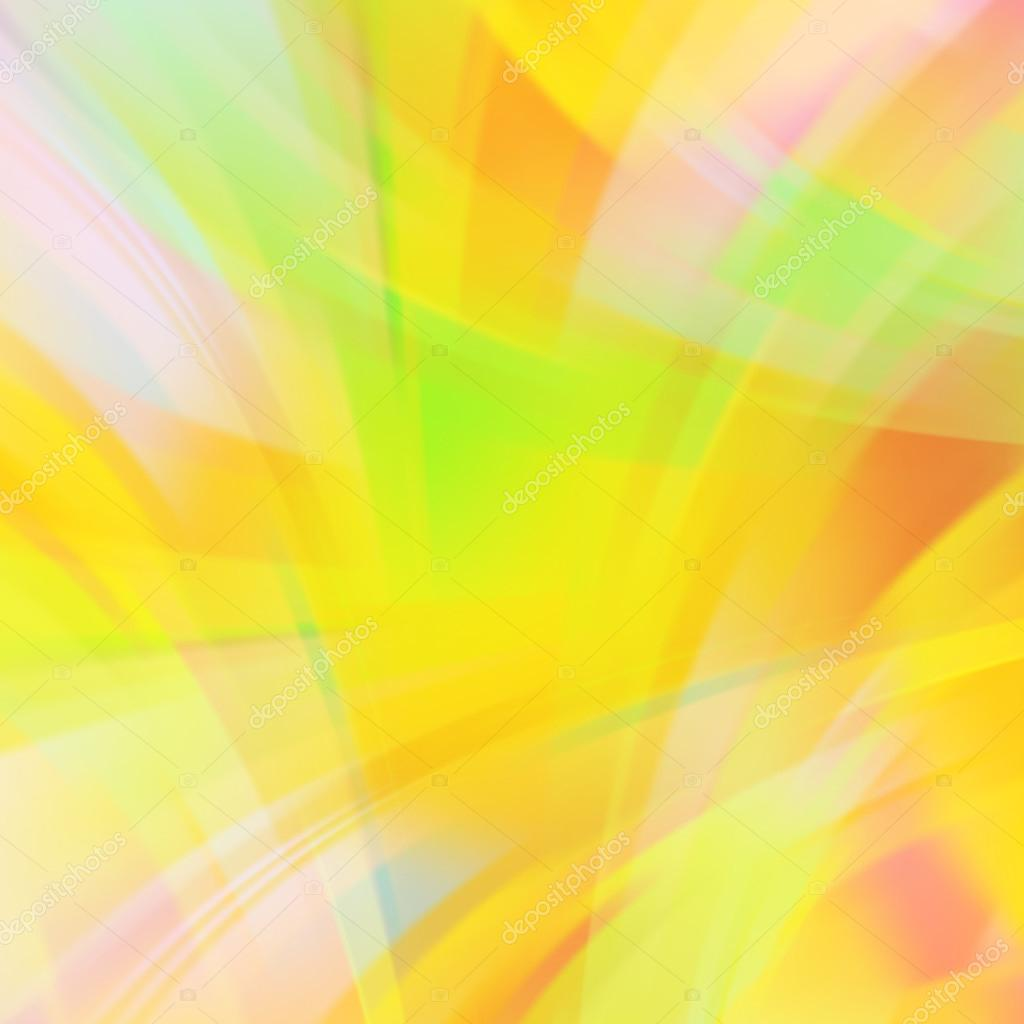 Abstract Yellow Abstract Yellow Background With Smooth