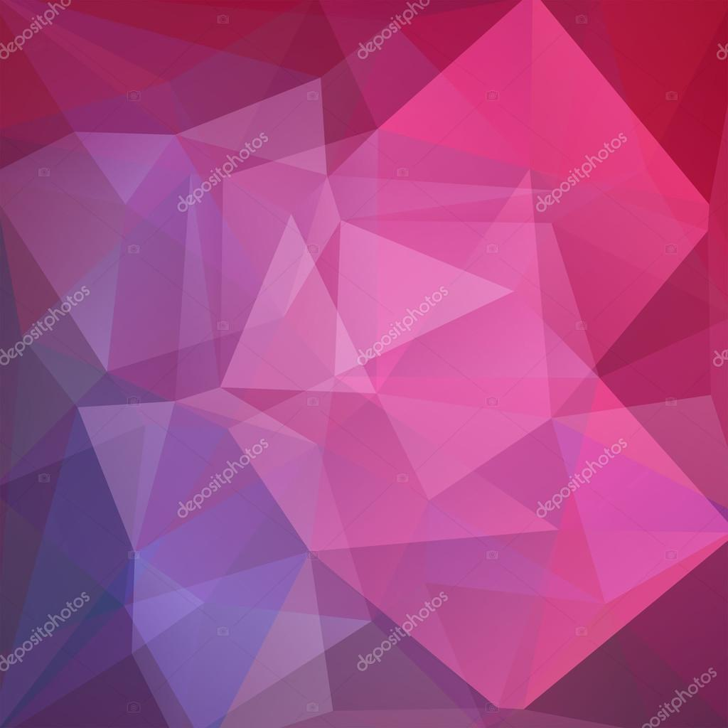 Fondo de vector poligonal. Puede ser utilizado en cubierta, diseño ...