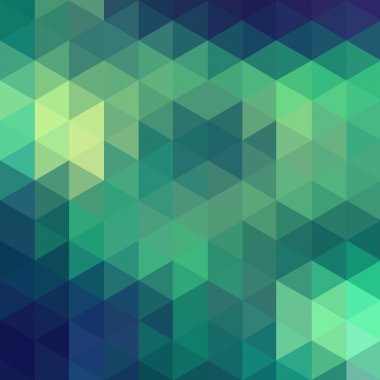 Triangles abstract background