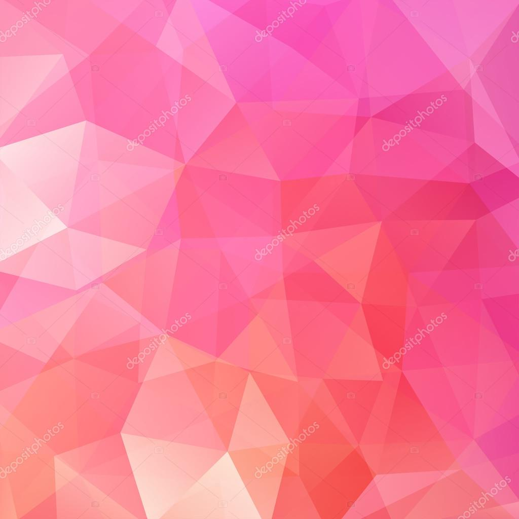 abstract background consisting of pink triangles vector
