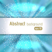 Abstract blue background with space for text, vector illustratio