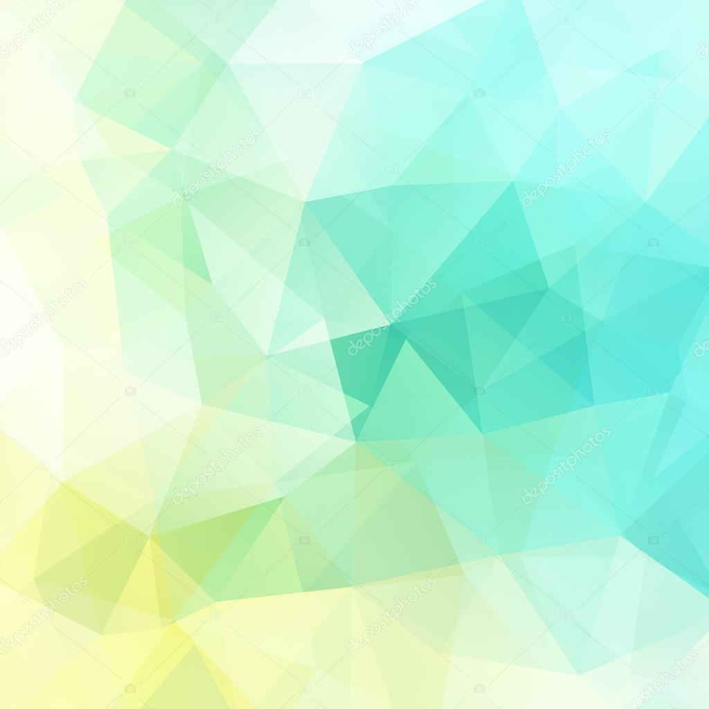 Abstract Background Consisting Of Green, Blue, White