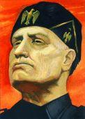 Fotografia Mussolini