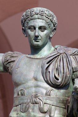 Bronze statue of the Roman Emperor Constantine