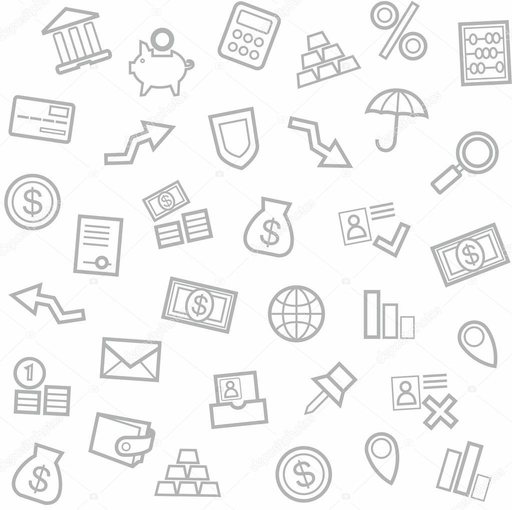 Finance Background: Background, Finance, Money, Economics, Seamless, White