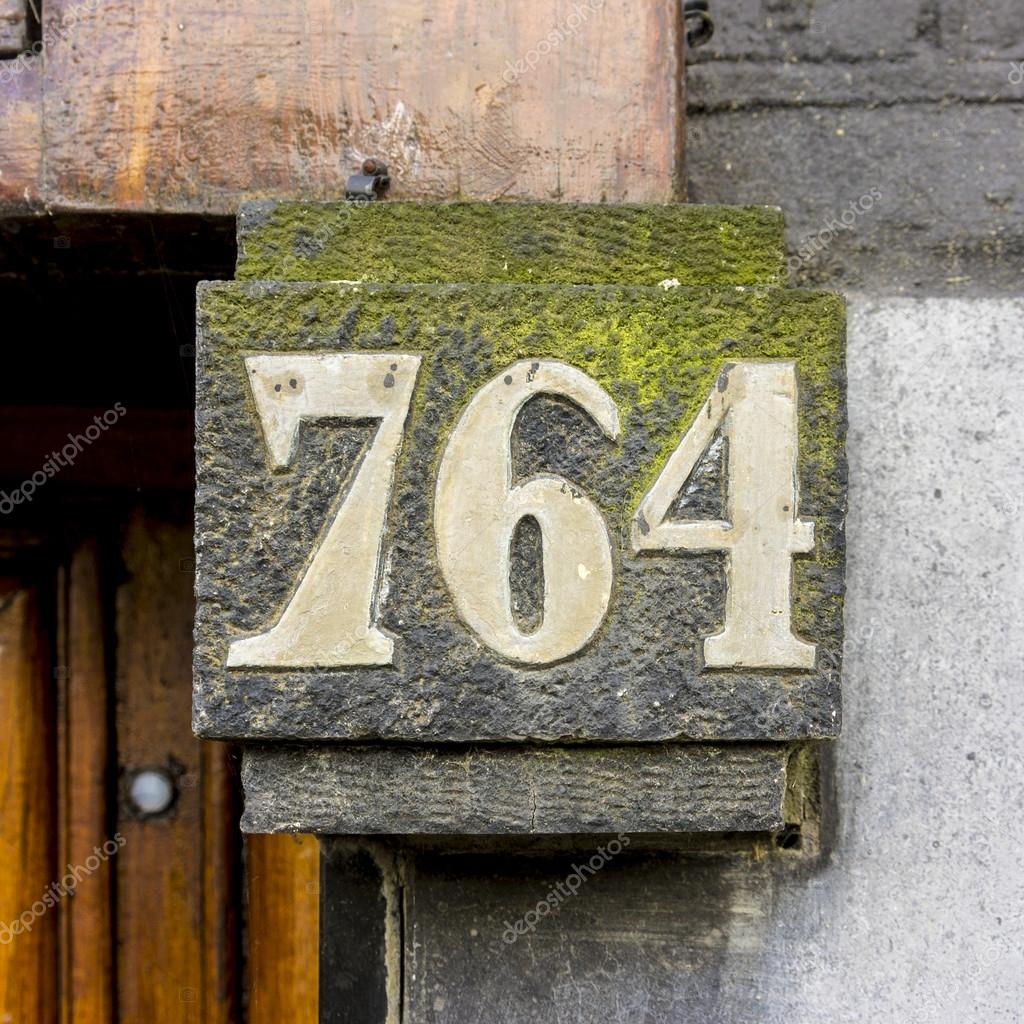 House number 764 — Stock Photo
