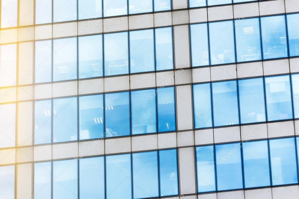 Glasfassade Textur