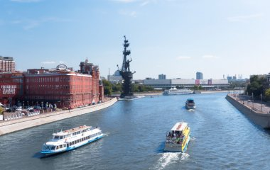 Moscow river in Moscow
