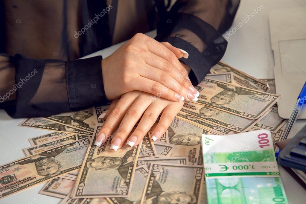 Imágenes Con Mucho Dinero Accontant De Mujer Con Mucho Dinero