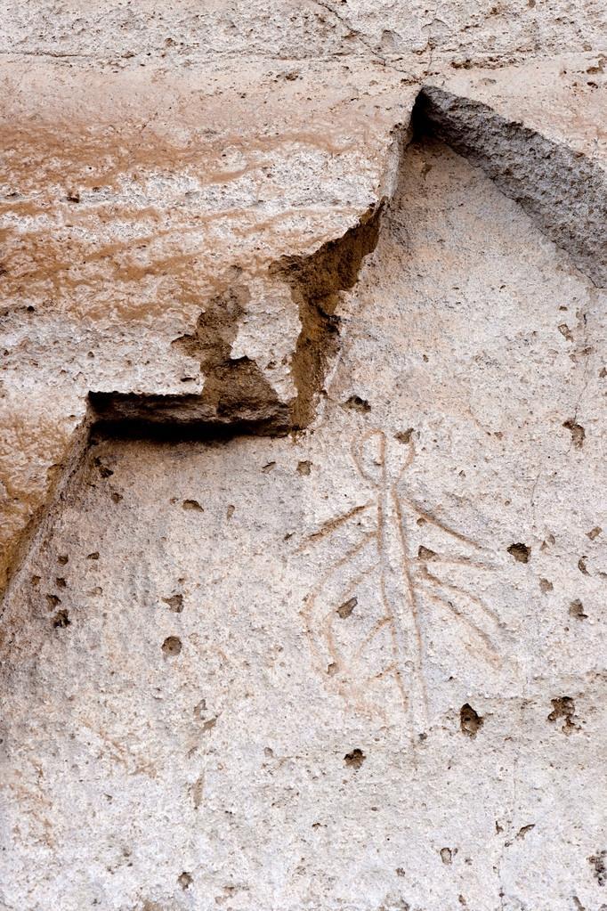 Lava Beds NM Petroglyph Point Pictopraphs Ancient Modoc Cliff Art