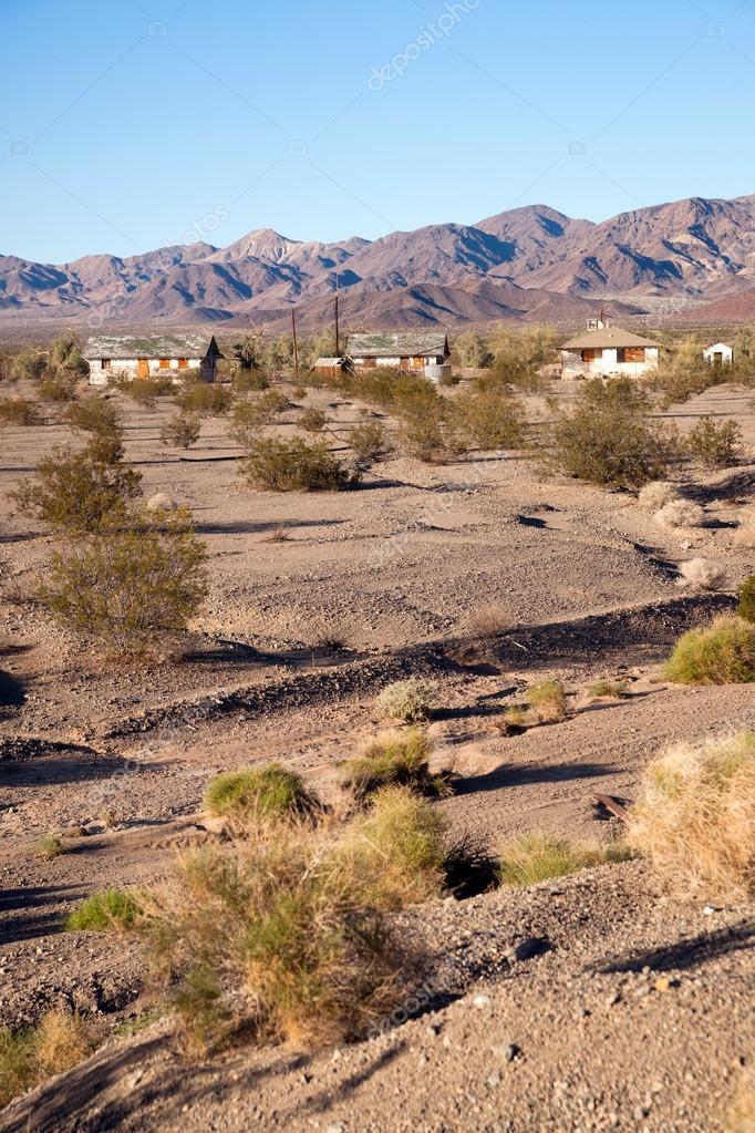 Abandoned Buildings California Wild West Mojave Desert