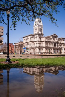 City Hall Building Downtown Louisville Kentucky Built 1871