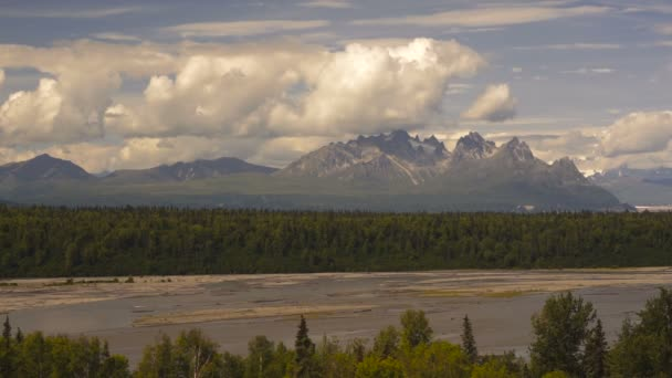 Mountains of the Denali Range Alaska