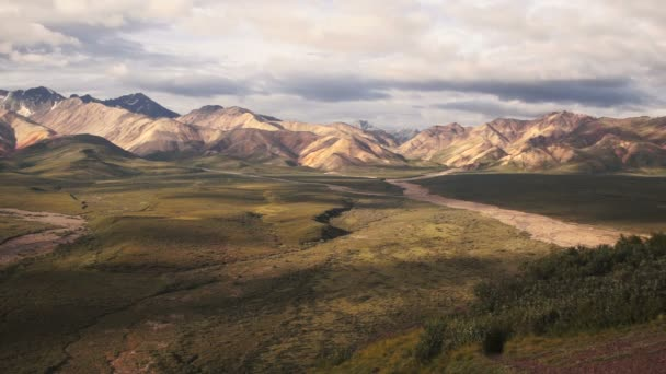 The Peaks and Valleys of Denali Alaska Territory