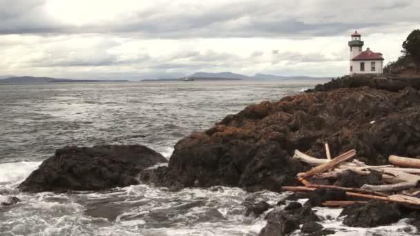 Vápenné pece maják Haro průliv námořní námořní signál