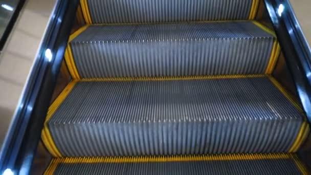 Letiště eskalátoru pěší dopravy Steel pohybující kroky
