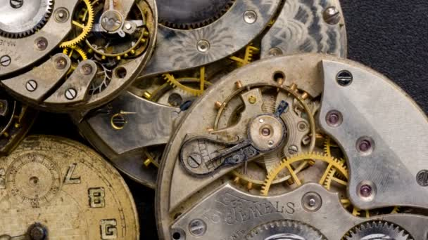 Pile of Vintage Watches Pocketwatch Time Piece Need Repair