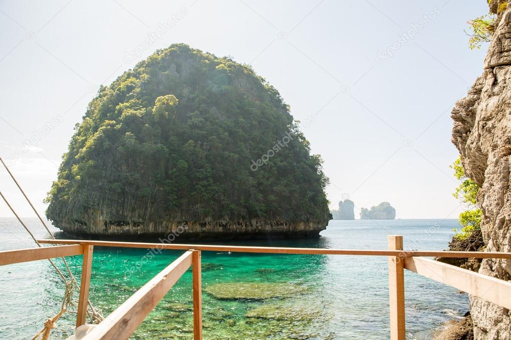 View of Maya Bay, Phi Phi island