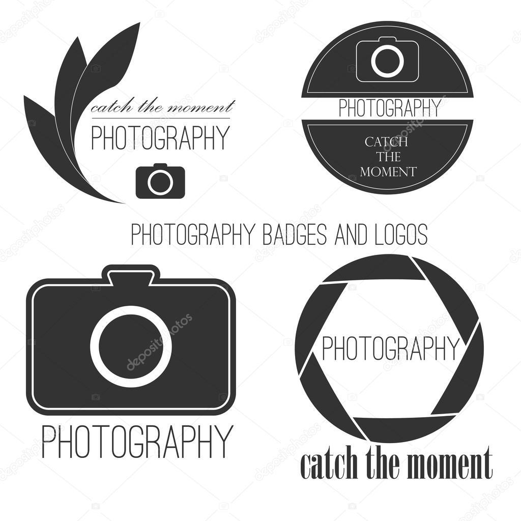 Vektor-Sammlung von Fotografie-Logo-Vorlagen. Photocam Logos ...