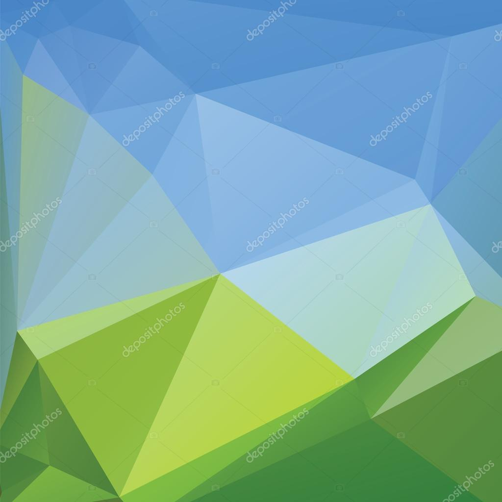 Website soft colors - Triangle Background Mountains Vector Polygon Art Soft Colored Abstract Illustration Web Mobile