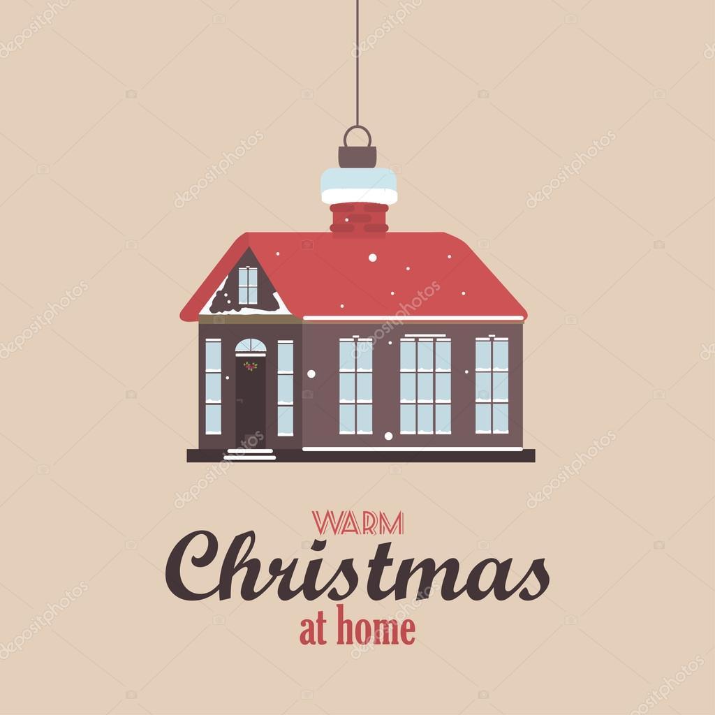 Frohe Weihnachten Vintage Retro Typografie Schriftzug Design Grußkarte Auf  Einfachen Hintergrund. Frohes Neues Jahr Frohe Feiertage Vorlage.