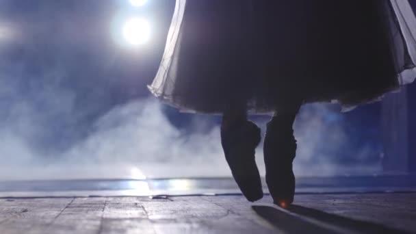 klassisches Ballett Ballerina auf Spitze