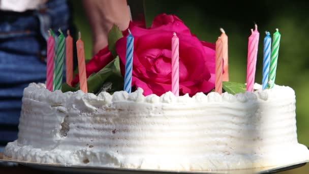 řezání dort