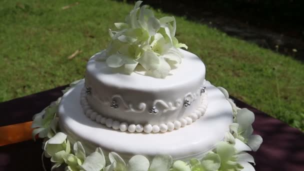 krásný svatební dort