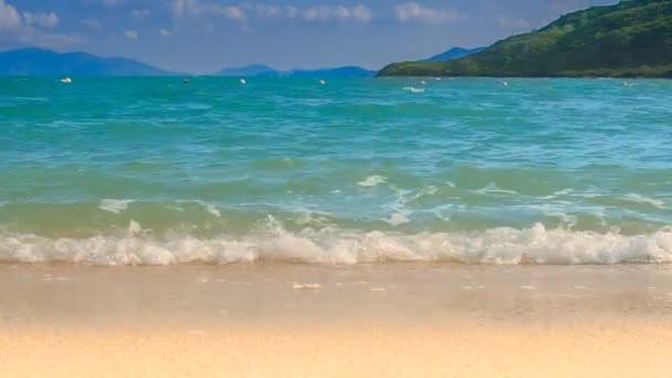 az azúrkék tenger hullám surf